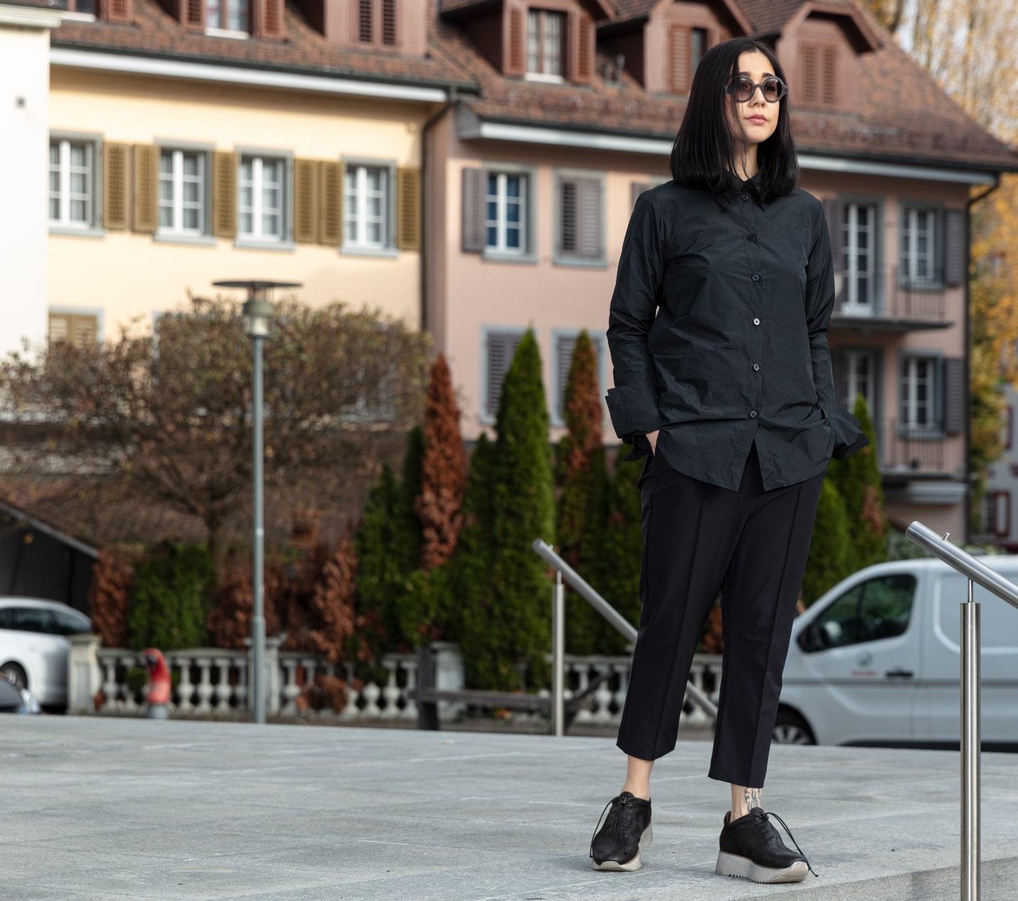 Katharina Hovman bei Zeitlos Designermode